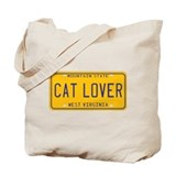 West Virginia Cat Lover Tote Bag