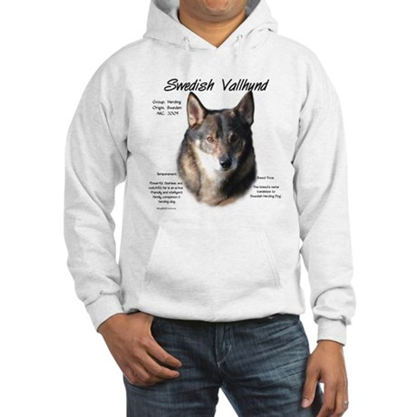 Swedish Vallhund Hooded Sweatshirt