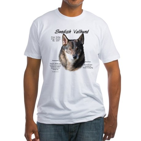 Swedish Vallhund Fitted T-Shirt