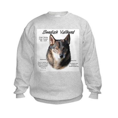 Swedish Vallhund Kids Sweatshirt