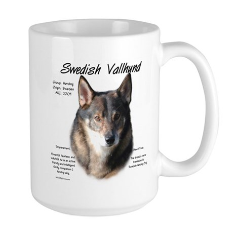Swedish Vallhund Large Mug