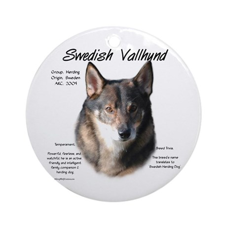 Swedish Vallhund Ornament (Round)