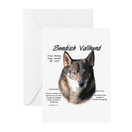 Swedish Vallhund Greeting Cards (Pk of 10)
