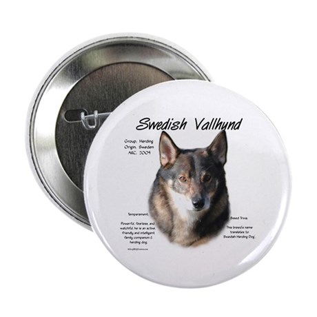 "Swedish Vallhund 2.25"" Button"