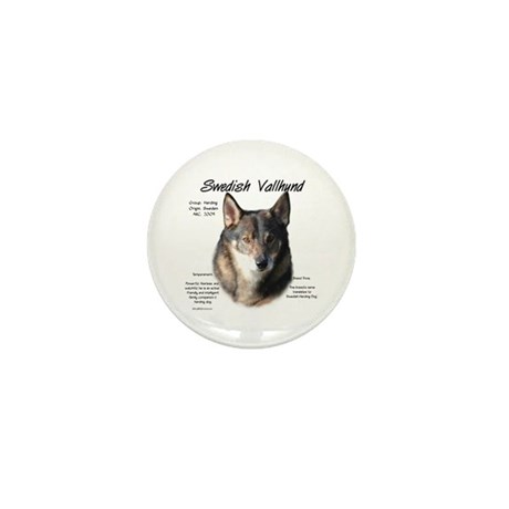 Swedish Vallhund Mini Button