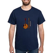 Mandolin Patent Dark Navy T-Shirt