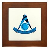 Blue Lodge Past Master Framed Tile