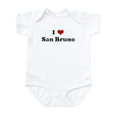 I Love San Bruno Infant Bodysuit
