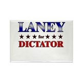 LANEY for dictator Rectangle Magnet