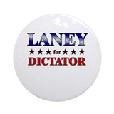 LANEY for dictator Ornament (Round)
