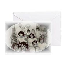 Cute Personalized christmas decorations Greeting Cards (Pk of 10)