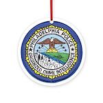 Philadelphia Police Intel  Ornament (Round)