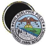 Philadelphia Police Intel Magnet