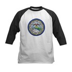 Philadelphia Police Intel  Kids Baseball Jersey