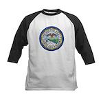 Philadelphia Police Intel  Kids Baseball Jersey