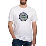 Philadelphia Police Intel  Fitted T-Shirt