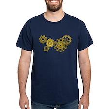 Woven Clockwork T-Shirt