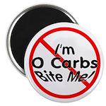 Bite Me 0 Carbs Magnet