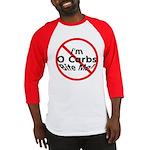 Bite Me 0 Carbs Baseball Jersey