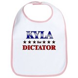 KYLA for dictator Bib