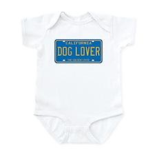 California Dog Lover Infant Bodysuit