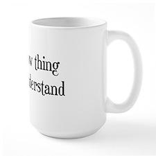 A Jersey Cow Thing Mug