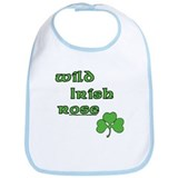 Wild Irish Rose Bib