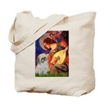 Angel3/Shih Tzu (P) Tote Bag
