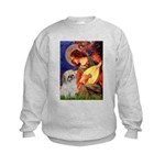 Angel3/Shih Tzu (P) Kids Sweatshirt