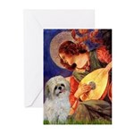 Angel3/Shih Tzu (P) Greeting Cards (Pk of 20)