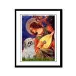 Angel3/Shih Tzu (P) Framed Panel Print