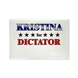 KRISTINA for dictator Rectangle Magnet (10 pack)