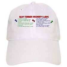 Silky Terrier Property Laws 2 Baseball Cap