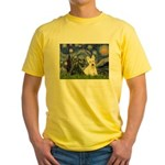 Starry /Scotty pair Yellow T-Shirt