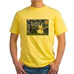 Starry /Scotty pair Yellow T-Shirt