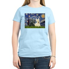 Starry /Scotty pair Women's Light T-Shirt