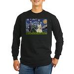 Starry /Scotty pair Long Sleeve Dark T-Shirt