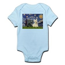Starry /Scotty pair Infant Bodysuit