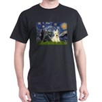 Starry /Scotty pair Dark T-Shirt