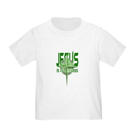 Jesus is My Compass - Green Toddler T-Shirt