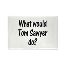 Tom Sawyer Rectangle Magnet (10 pack)