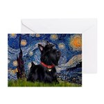 Starry / Scotty(bl) Greeting Cards (Pk of 20)