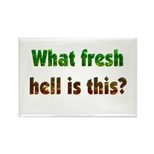 Fresh Hell Rectangle Magnet (10 pack)
