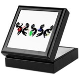 Kokopelli Band Keepsake Box