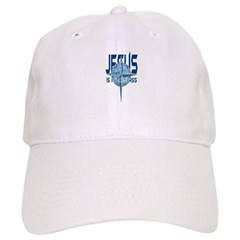 Jesus is My Compass - Blue Cap