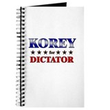 KOREY for dictator Journal