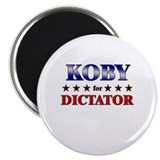 "KOBY for dictator 2.25"" Magnet (10 pack)"