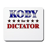 KOBY for dictator Mousepad