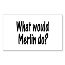 Merlin Rectangle Decal