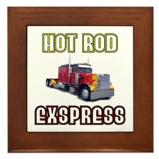Hot Rod Express Framed Tile